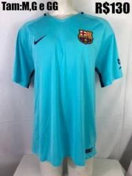 Camisa Original Barcelona Nike. Tam  M cd2cbec1498