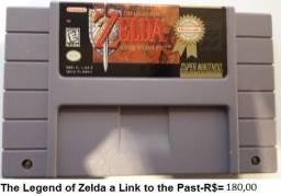 The legend of zelda a link to the past de super nintendo comprar usado  Porto Alegre