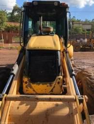 Retro Escavadeira New Holland B90b