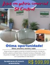 Oportunidade! menor aluguel em Formosa-Go ST central. R$ 599