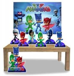 Kit decoração festa infantil PJ Masks
