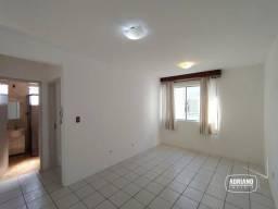 Apartamento com 1 dormitório para alugar, 50 m² por R$ 800,00/mês - Capoeiras - Florianópo