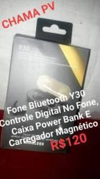 Y30 Fone De Ouvido Sem Fio Esportivo