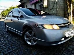 Honda Civic Sedan LXS 2008 Automático com Gnv