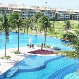 Apartamento na Praia Porto Das Dunas - Golf Ville, 3 suítes, lazer completo