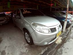 Sandero 2010 com GNV completo entrada + 339.00 prestações