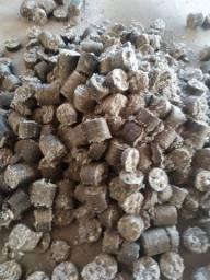Briquete de algodão