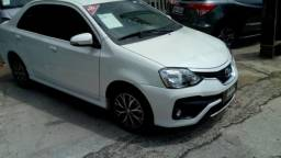TOYOTA ETIOS SEDAN PLATINUM 1.5 16V AT FLEX Branco 2017/2018 - 2017