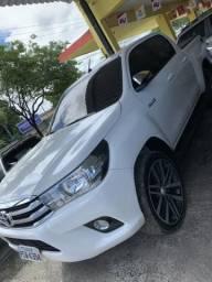 Toyota hilux srv 2016/2016 rodas 20 completo - 2016