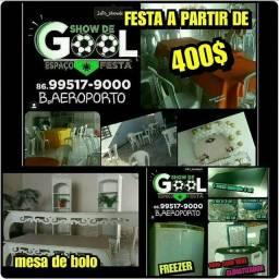 ESPAÇO FESTA SHOW DE GOL NO AEROPORTO