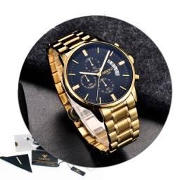 Relógio Nibosi 2309 Original de Luxo / Barato - Envio Imediato