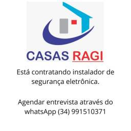 CONTRATA-SE INSTALADOR DE SEGURANÇA ELETRÔNICA