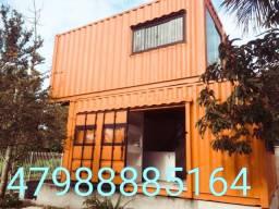Casa container, pousada, kit net, plantao de vendas escritorio em Foz do Iguaçu
