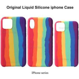Capas para iPhone case arco íris (house eletronics)