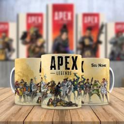 Apex Legends Canecas de Varios Games XBox Playstation Pc Gamer Mobile