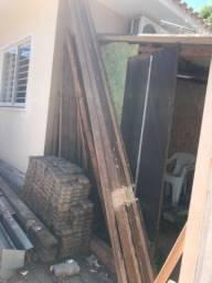 Caibros madeira bruta