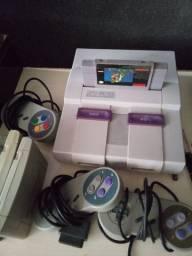 Super Nintendo original  tudo ok