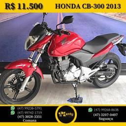 Honda Cb300 2013 Vermelha
