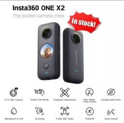 Câmera Insta 360 One X2, 5.7k, wi-fi, ipx8