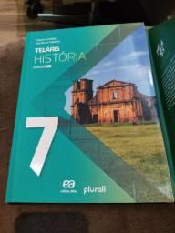 Livro usado - Telaris História 7ano