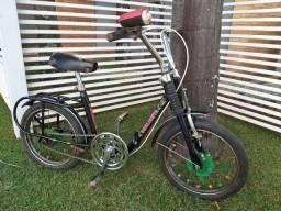 Título do anúncio: Bicicleta antiga caloi aro 14 Berlineta
