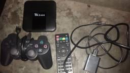 Tv box com mais de 10mil jogos
