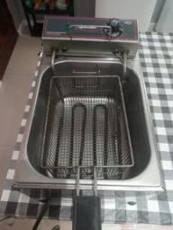 Fritadeira metal cubas 5 litros 220v