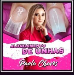 Curso de alongamento de unhas com Paoula Chaves