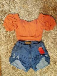 Short jeans plus size na loja BelaRara.oficial