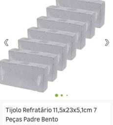 50 unidades Tijolo Refratário usado.  Perfeito estado . Valor unitário