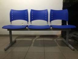 Cadeiras para recepção - Sala de espera