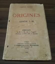Origens - Charles Hauret (raridade em Francês)