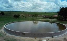 Reservatórios inteiriços em concreto até 1 milhão de litros