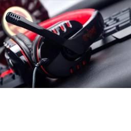 fone de ouvido Headset Gamer P2 Microfone Sy733mv Soyto