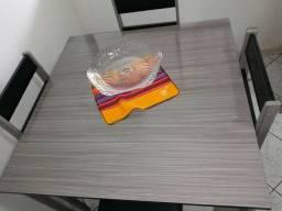 Conjunto mesa e cadeira e rack 100 % MDF