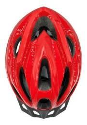 Capacete Ciclismo Absolute Nero Com Pisca Led Bike Mtb Speed