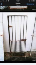 Portões de ferro pra canil