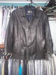 Barbada casaco em couro masculino-em ótimo estado-número-.GG- aceito troca-