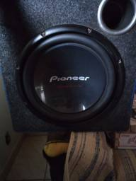 Vendo caixa de som montada com 1 alto falante de 12