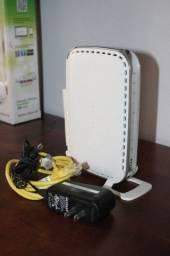 Título do anúncio: Roteador Netgear WGR614 em Plástico Branco 18 cm x 17 cm x 6 cm