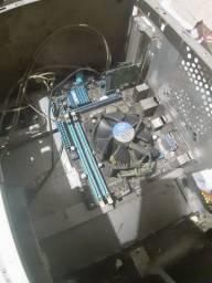 Kit Inter i3 de terceira geração, placa mãe asus, e placa de rede