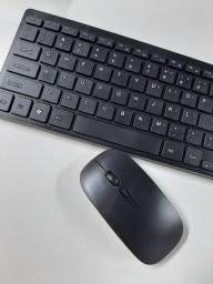 Kit Teclado e mouse Wireless