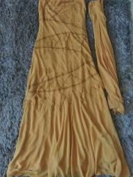 Título do anúncio: Vendo vestido social tomara que caia P