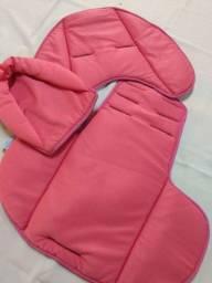Almofada para cadeirinha de bebê oi carrinho ajustável