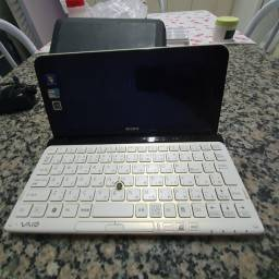 Título do anúncio: Mini notebook Sony waio tela quebrada