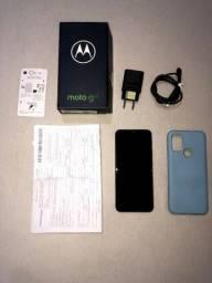 Título do anúncio: Moto g10, 64b, caixa e acessórios, nota fiscal