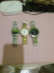 Título do anúncio: Vendo relógios original 2 feminino e 1 masculino vendo ou troco