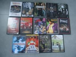 DVDs de Rock e alguns filmes