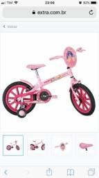 Bicicleta Caloi aro 16, perfeito estado