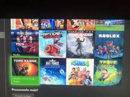 Xbox One c/ kinect + 20 jogos completo